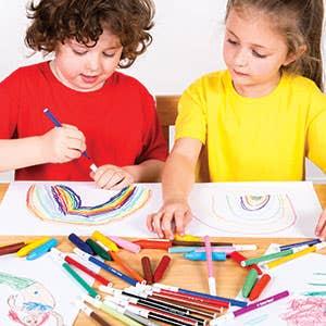 Colouring Pens & Pencils