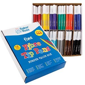 Summer Colouring Pens and Pencils