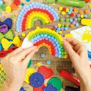 Summer Rainbow Crafts