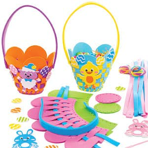 easter-basket-making